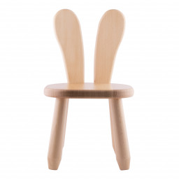 Natur Bunny wood kid chair
