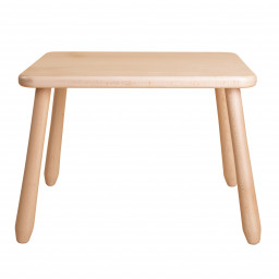 Natur wood kid table